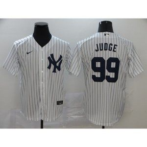 New York Yankees Aaron Judge White Game Jersey